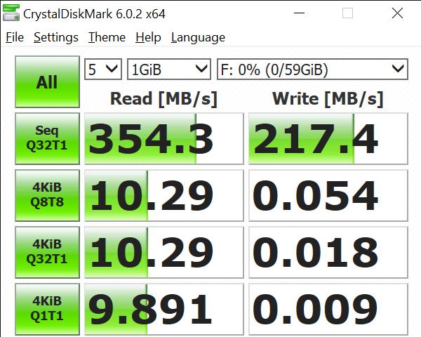 CrystalDiskMark 6.0.2 x64 5 14 2019 3 52 02 PM
