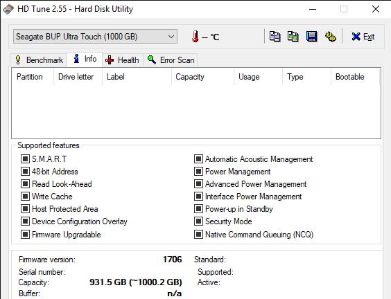 HD Tune 2.55 Hard Disk Utility 5 23 2019 11 05 00 AM