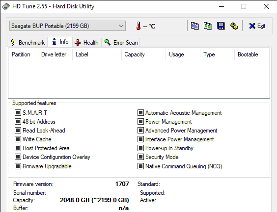 HD Tune 2.55 Hard Disk Utility 5 23 2019 11 18 13 AM