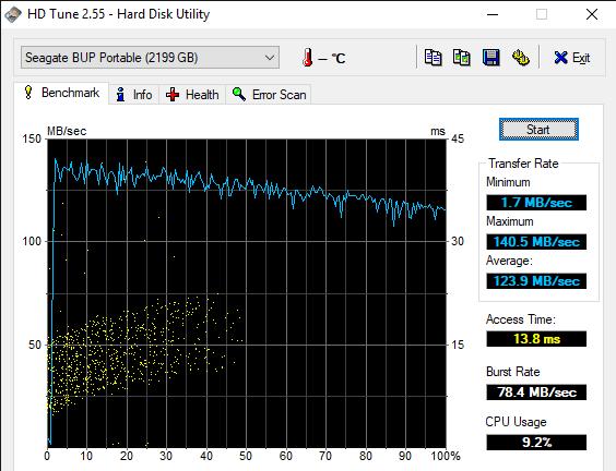 HD Tune 2.55 Hard Disk Utility 5 23 2019 11 28 19 AM