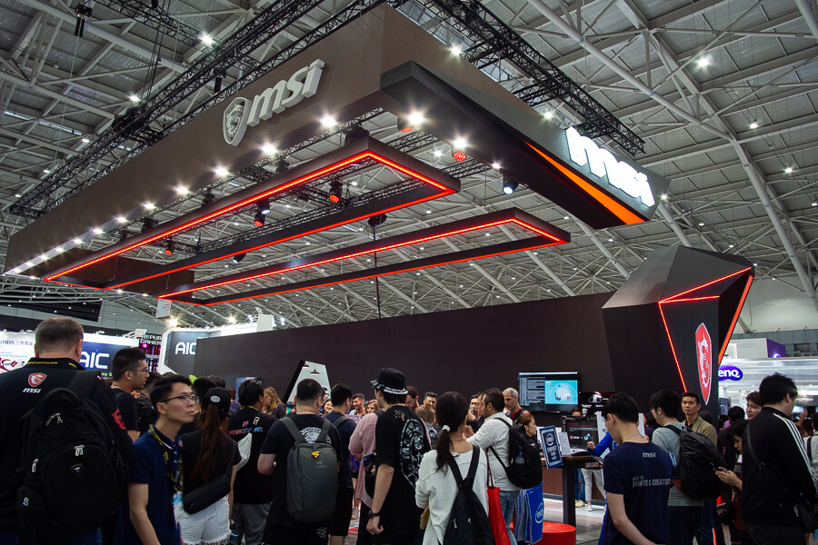 MSI Booth Computex 2019 NotebookSPEC 1