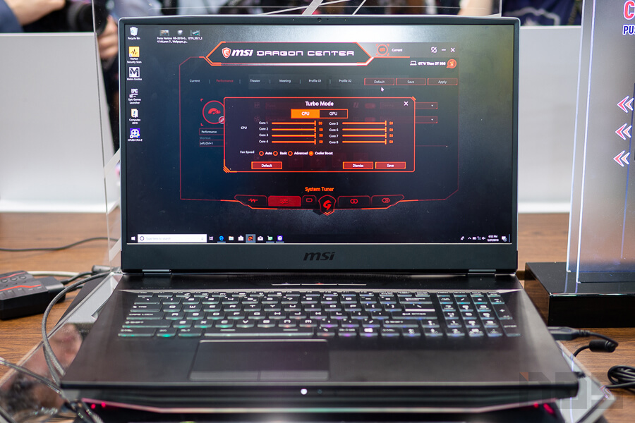 MSI Booth Computex 2019 NotebookSPEC 16
