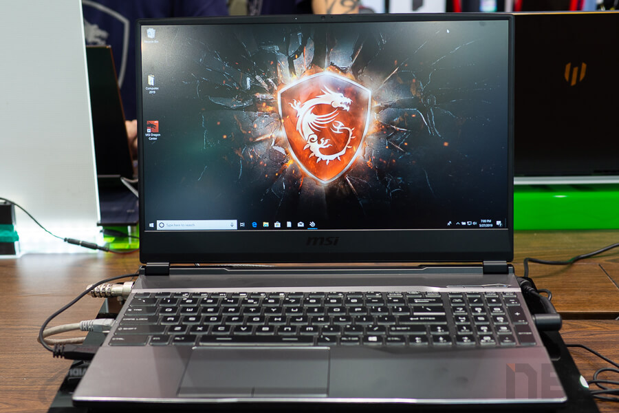 MSI Booth Computex 2019 NotebookSPEC 48
