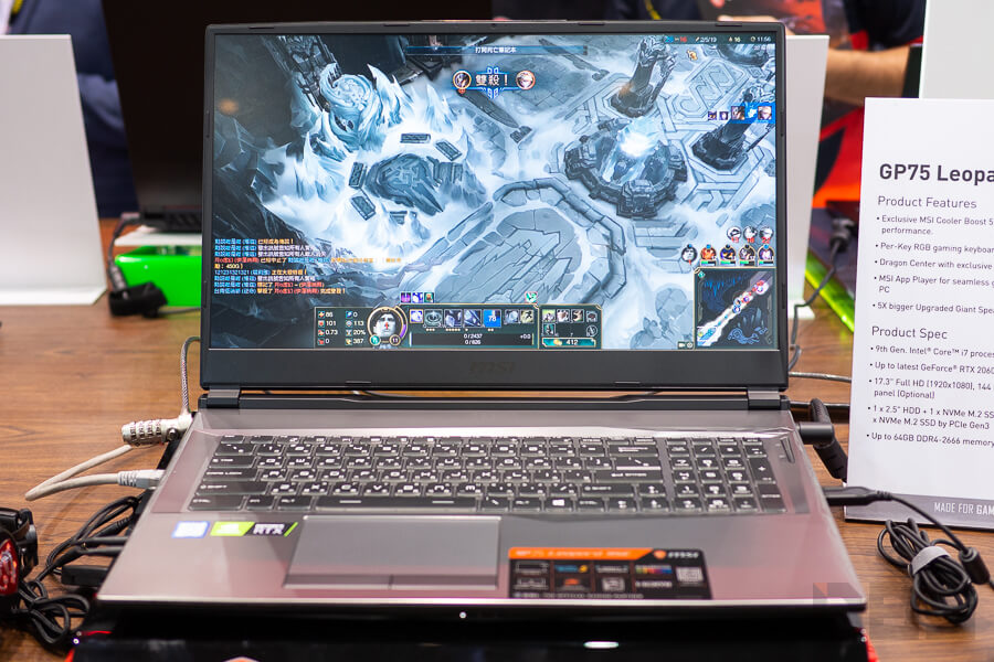MSI Booth Computex 2019 NotebookSPEC 62