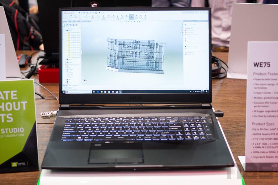 MSI Booth Computex 2019 NotebookSPEC 74