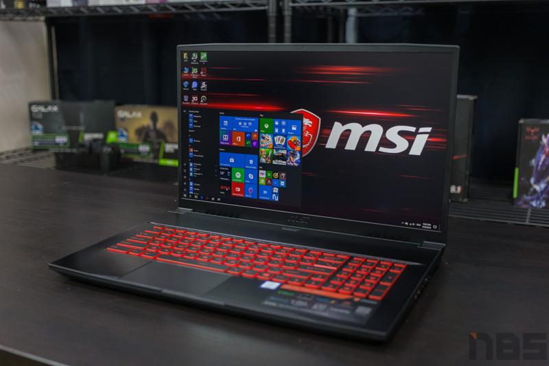 MSI GF75 9SC Review 2