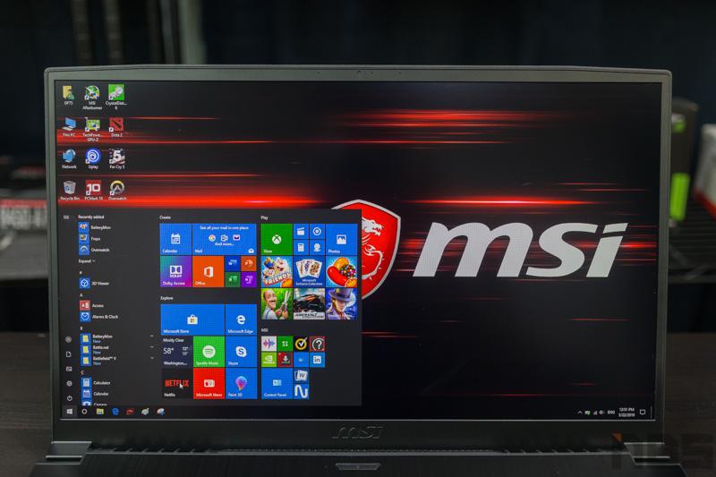 MSI GF75 9SC Review 4