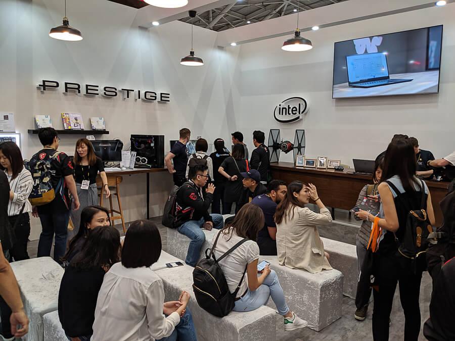 MSI HQ Computex 2019 NotebookSPEC 81