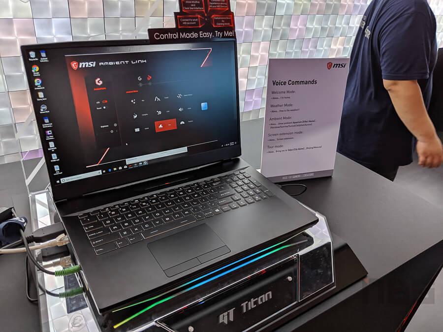 MSI HQ Computex 2019 NotebookSPEC 82