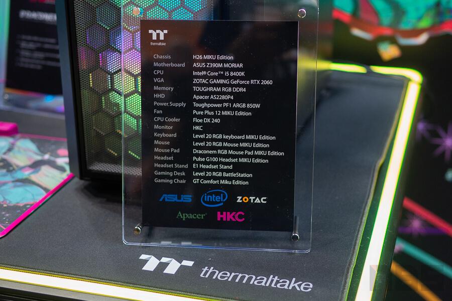 Thermaltake Computex 2019 NotebookSPEC 61
