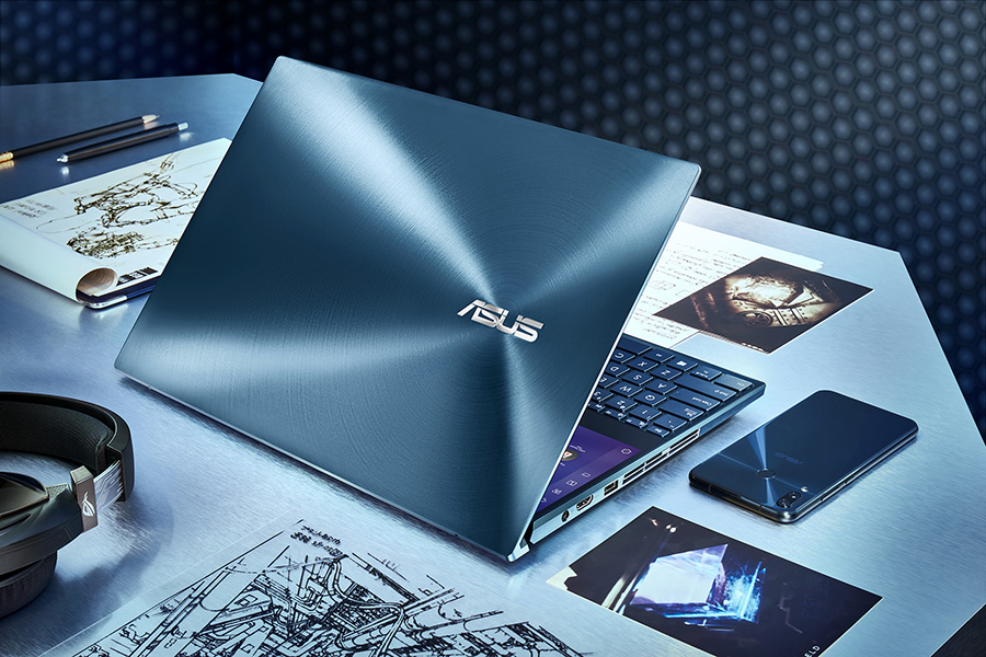 ZenBook Pro Duo UX581 Celestial Blue Design