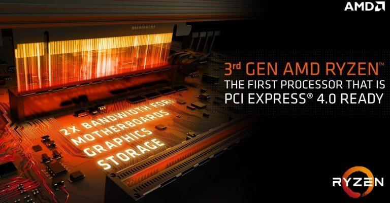 AMD PCIe Gen4 X570