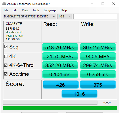 AS SSD Benchmark 1.9.5986.35387 6 7 2019 11 15 41 AM
