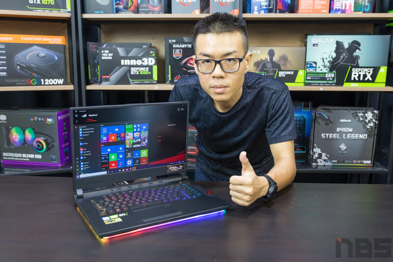 ASUS ROG Strix HERO III Review NBS 121