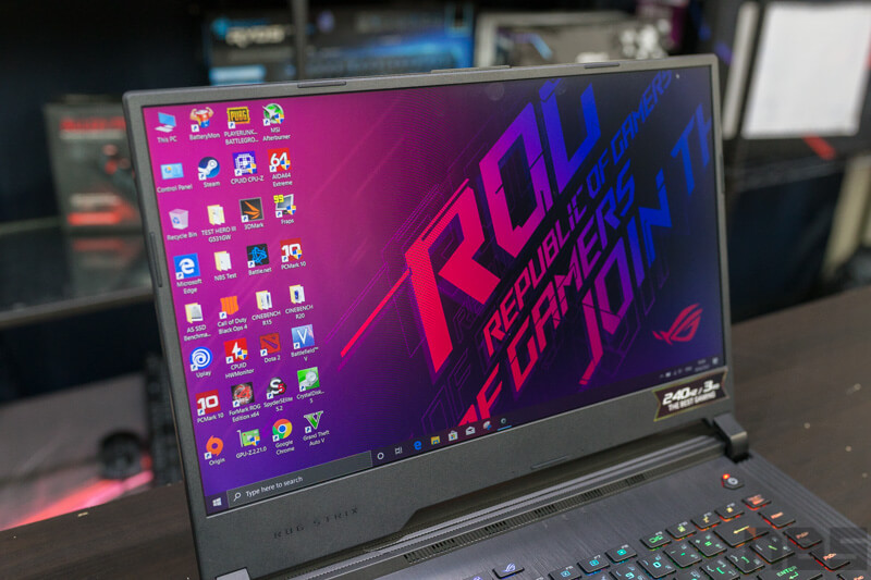 ASUS ROG Strix HERO III Review NBS 7