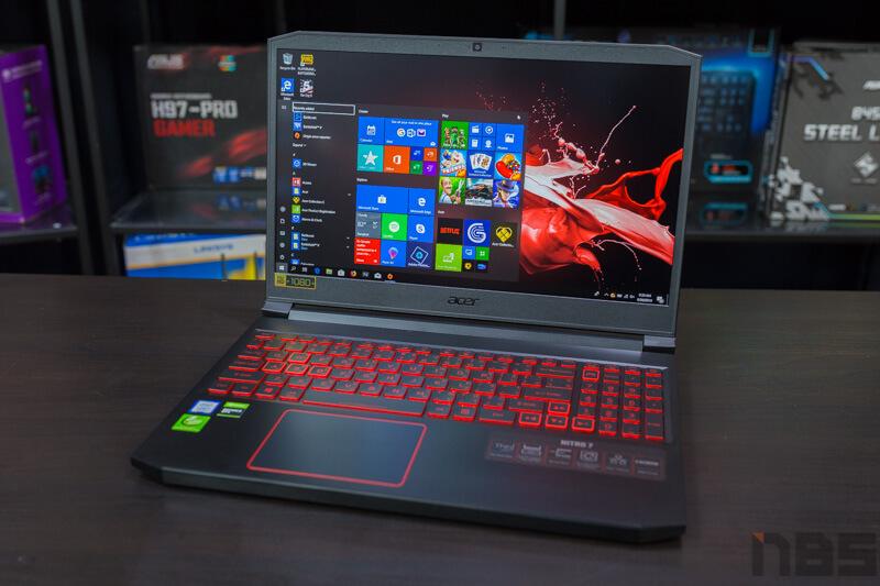 Acer Nitro 7 Review NBS 1