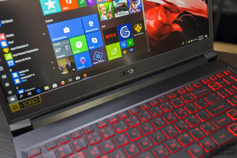 Acer Nitro 7 Review NBS 15