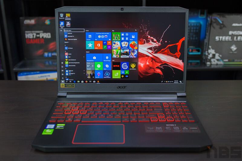 Acer Nitro 7 Review NBS 3