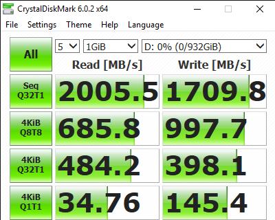CrystalDiskMark 6.0.2 x64 6 19 2019 10 45 05 AM