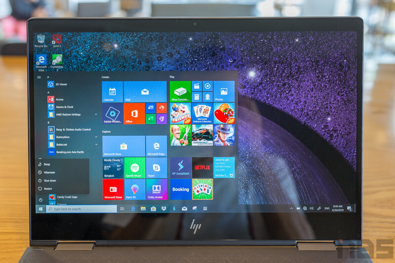 HP ENVY x360 2019 Review NBS 28