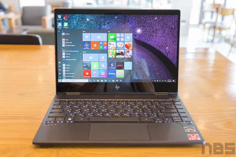 HP ENVY x360 2019 Review NBS 5