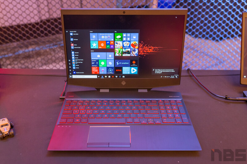HP OMEN 15 2019 Preview NBS 1