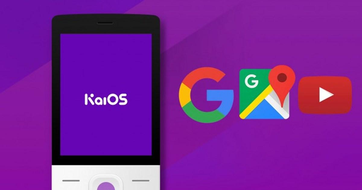 KaiOS with Google App