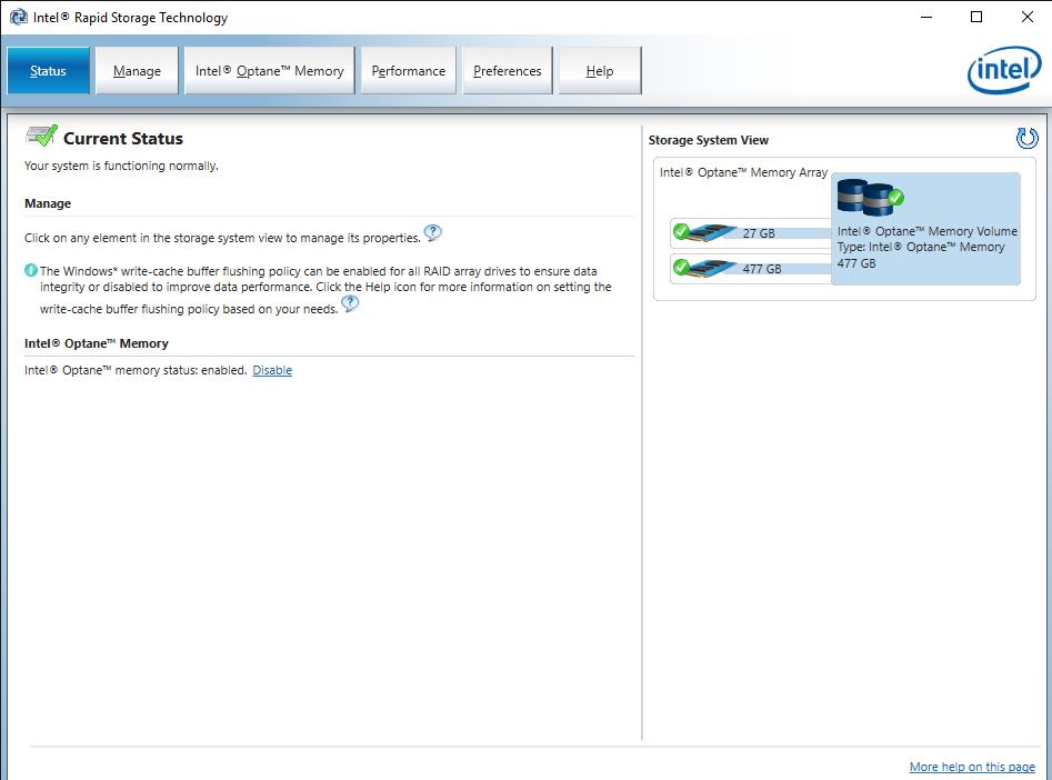 Intel® Rapid Storage Technology 14 Jun 19 11 59 15 AM