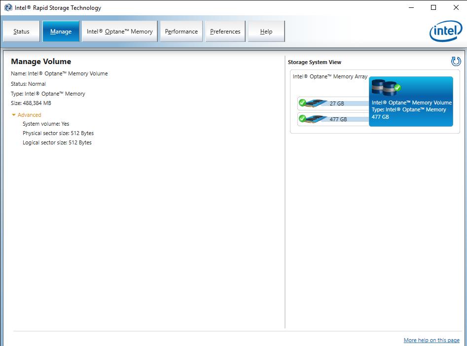 Intel® Rapid Storage Technology 14 Jun 19 11 59 31 AM