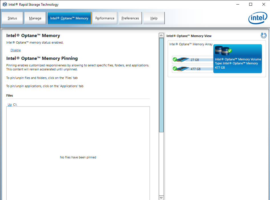 Intel® Rapid Storage Technology 14 Jun 19 11 59 36 AM