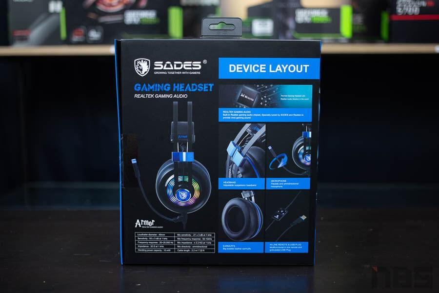 Sades Armor Gaming Headset 2