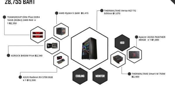 pc spec gaming 28000