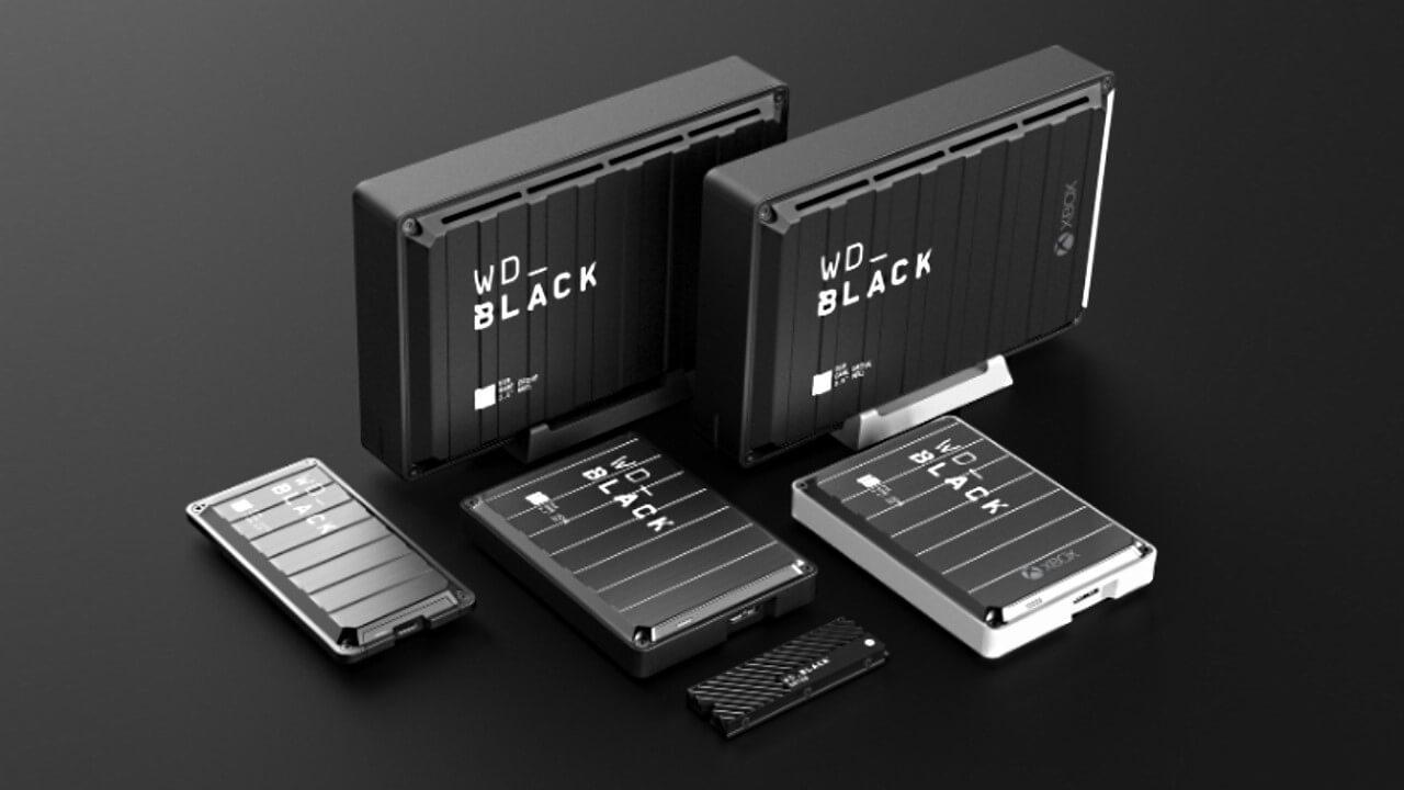 660144 western digital wd black external storage for gaming