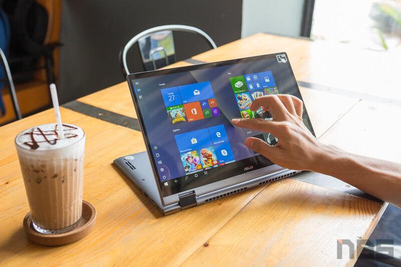 ASUS ZenBook Flip UM462D Review 65