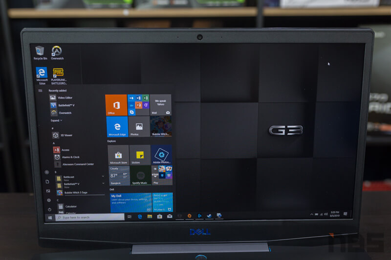 Dell G3 15 3590 NBS Review 5