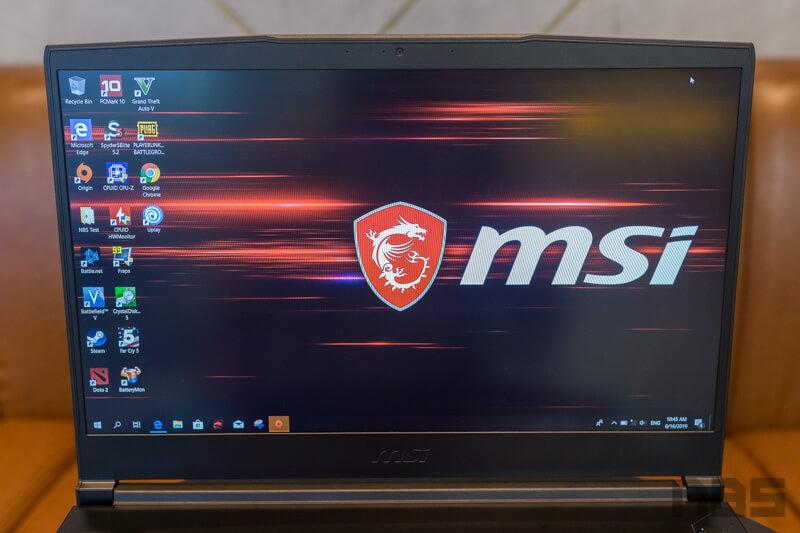 MSI GF63 9RCX Review 2