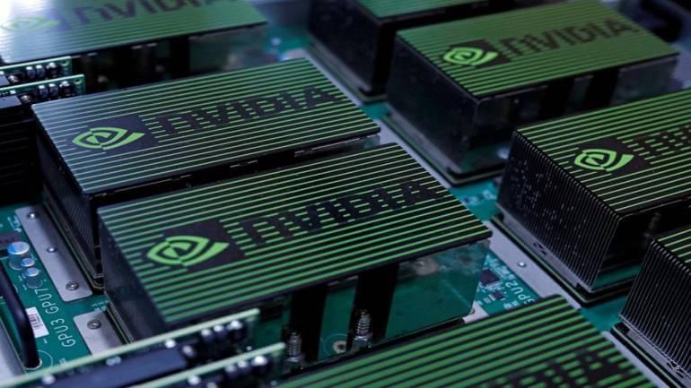 Nvidia green chips