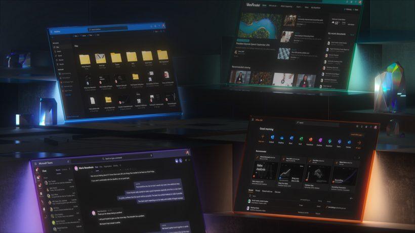 microsoft 365 dark mode