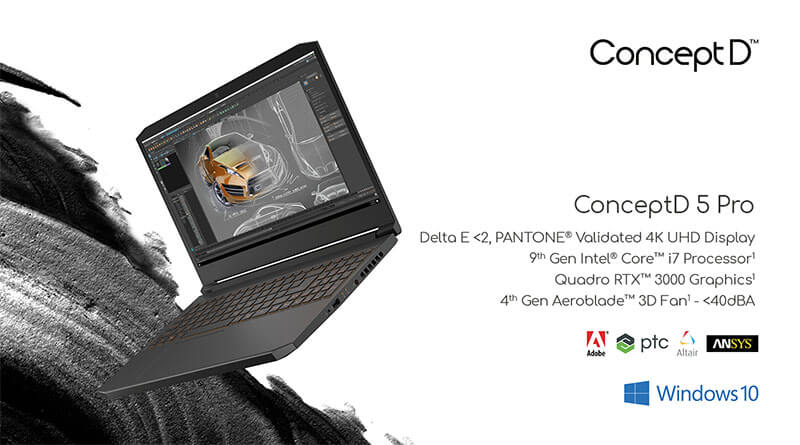 Acer ConceptD 5 Pro spec
