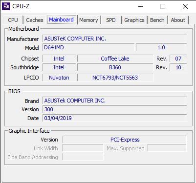 CPU Z 9 15 2019 11 58 25 PM