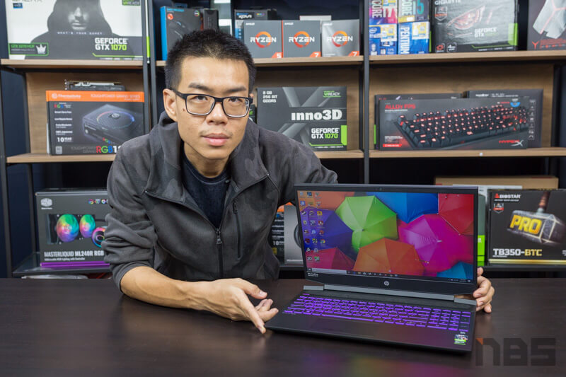 HP Pavilion Gaming 15 Ryzen 5 GTX 1650 Review 5
