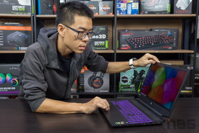HP Pavilion Gaming 15 Ryzen 5 GTX 1650 Review 9