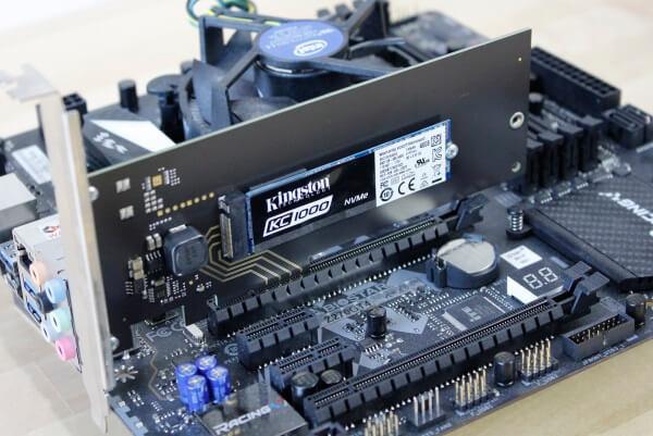 Kingston SSD PCIe 3