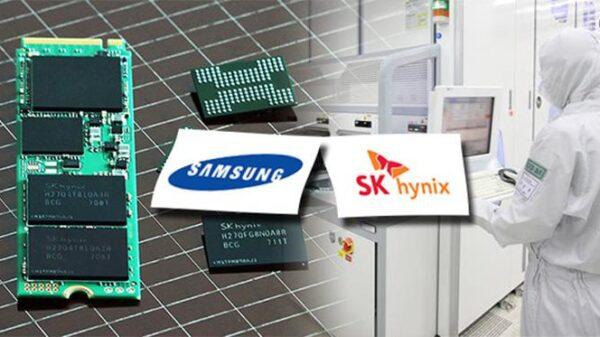 1 1 Samsung and SK Hynix