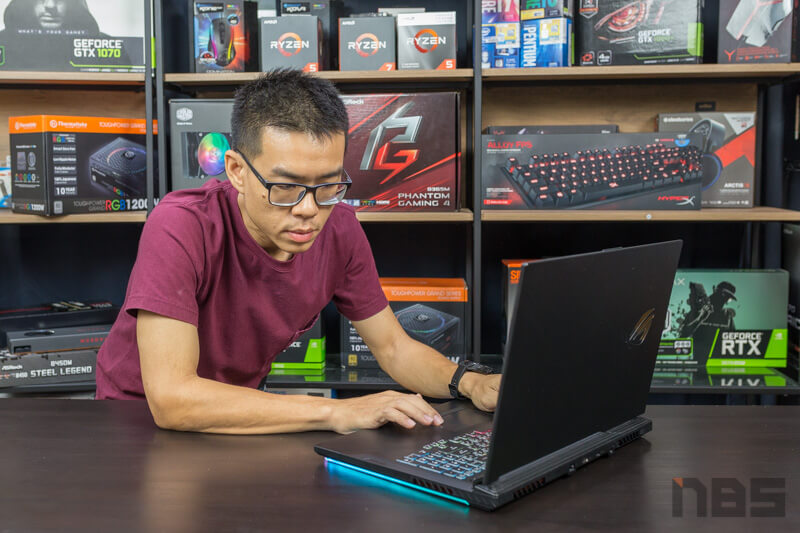 ASUS ROG Strix G G731 RTX2060 Review 61