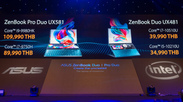 ASUS ZenBook Duo spec in thai 2