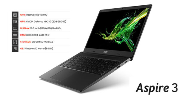 Acer Aspire 3 A315 55 top ss