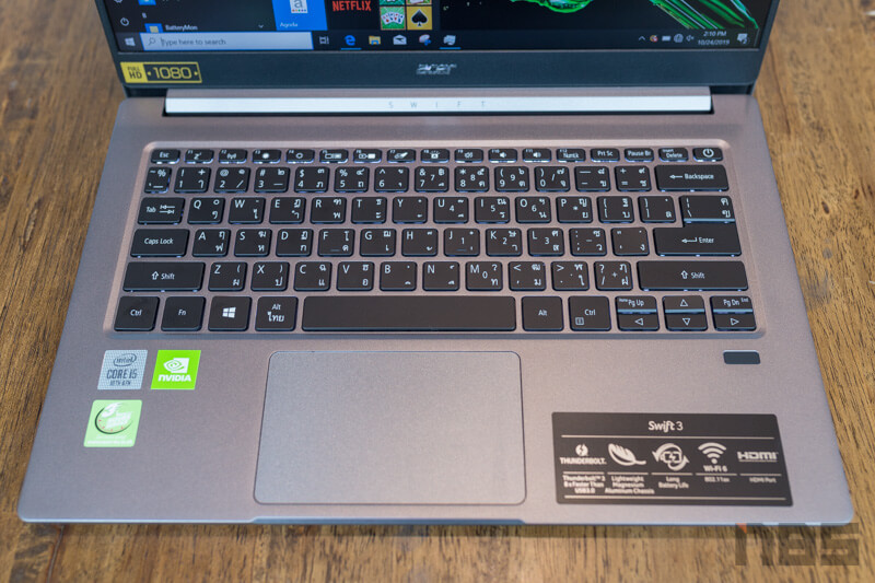 Acer Swift 3 Core i Gen 10 Review 14