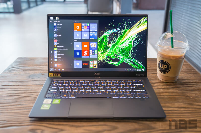 Acer Swift 5 Core i Gen 10 NBS Review 4