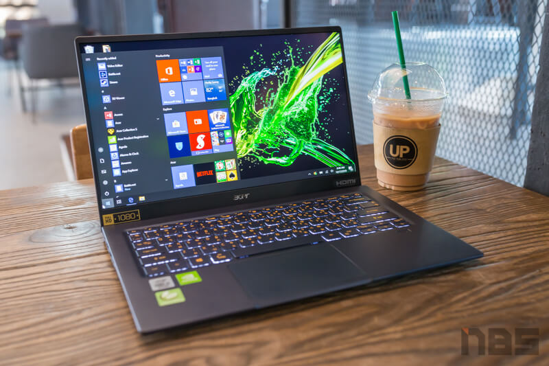 Acer Swift 5 Core i Gen 10 NBS Review 5